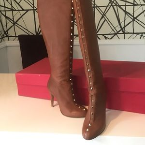 Valentino Shoes - Authentic OTK Valentino rockstud boots size 37